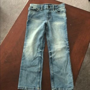 Boys Cat & Jack Straight Recto Light wash jeans 7